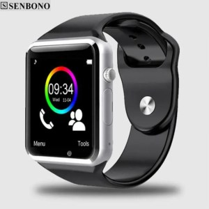 Electronic Gadgets A1 Bluetooth Sport Pedometer  Smart Watch with SIM Camera Smartwatch Bluetooth