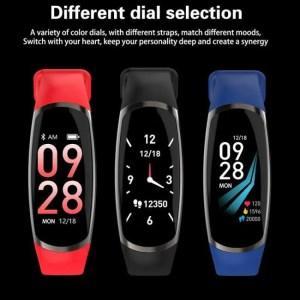 Hear SFPW-5 Fitness Smart Pedometer Health Activity Monitor Pulsometer BP Bluetooth Bracelet Watch 50M