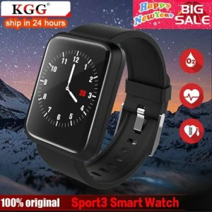 FREE SHIPPING SFPW-3 Fitness Smart Pedometer Health Monitor Pulsometer BP Bluetooth Bracelet Watch 50M