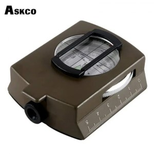 FREE SHIPPING LC-1 Military Lensatic Survival Hiking Emergency Compass angle