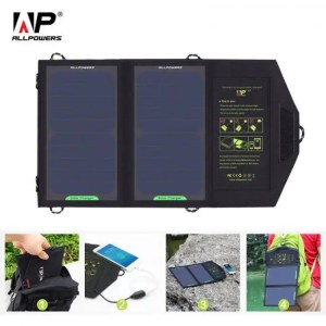 FREE SHIPPING 10W 5V Solar Charger Portable Solar Battery Charging for Phone BatteryCharger