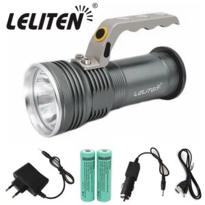 Accessories LFL-2 T6  LED Torch Aluminum alloy Zoomable Tactical Defense Flashlight up to 6000 lumens Battery