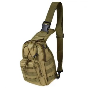 FREE SHIPPING Outdoor Sports Shoulder Military Camping Hiking Bag 600D