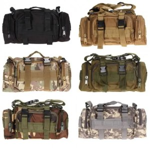 FREE SHIPPING Waterproof Waist Oxford Climbing Tactical Outdoor Bag 600D