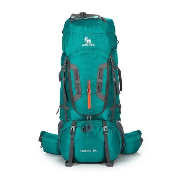 FREE SHIPPING 80L Camping Hiking Backpacks Big Outdoor Bag Backpack Nylon superlight Sport Travel Bag Aluminum alloy support 1.65kg 600D