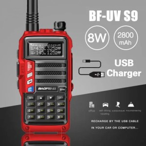 Electronic Gadgets 2019 BaoFeng UV-S9  8W 10km Long Range Portable Powerful Walkie Talkie CB Radio Transceiver 10km