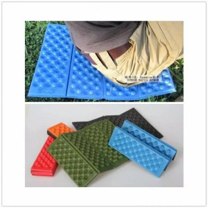 FREE SHIPPING Cushion Outdoor Folding XPE Waterproof Camping Mat Picnic Sitting Mat baby crawling mat