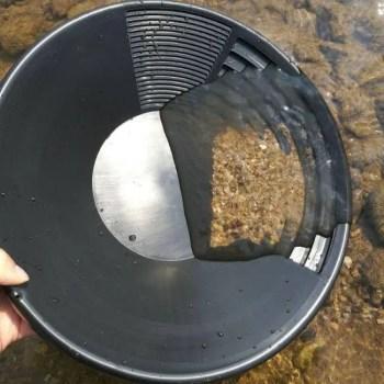 FREE SHIPPING Plastic Gold Basin Nugget Mining Dual Riffle Dredging Prospecting River Tool Pan Basin