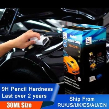 FREE SHIPPING Rising Star RSACCS01 Liquid Glass 9H Nano Hydrophobic Ceramic Coating Car Care Anti-Scratch 30Ml kit 30ML