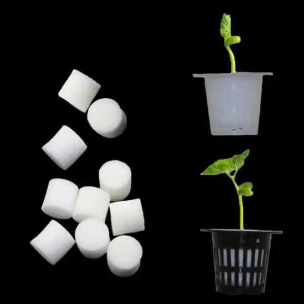 FREE SHIPPING Soilless Hydroponic Vegetables Nursery Pots Nursery Sponge Flower Seed Cultivation Soilless Cultivation System Seed Trays Basket