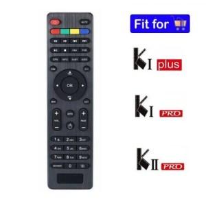 FREE SHIPPING Extra Remote Control For K1 KI Plus K1 KI Pro K2 KII Pro DVB-S2 DVB T2 Android Satellite Recevie Digital TV Box T2S2 Set Top Box Android