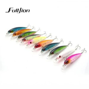 FREE SHIPPING 1pcs Fishing Lures 3D Eyes Floating Laser Minnow Hard Aritificial Wobblers Crankbait Plastic Baits Pesca Isca 11cm 13.5g 2019
