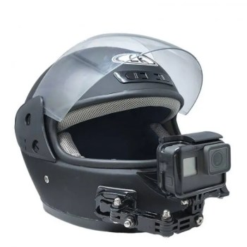 FREE SHIPPING Adjustable Helmet Curved Adhesive Side Mount for Action Cameras Free shipping