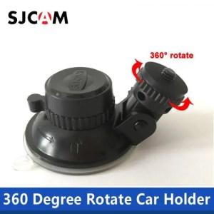 Accessories Original SJCAM Accessories Car Sucker Holder Mount Suction Cup 360 Degree Rotate for yi SJ5000 M10 M20 SJ6 SJ7 H9 SJ4000 Air 360