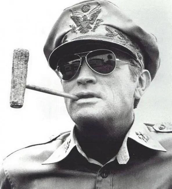 Car & Motorbike JackJad Army MILITARY MacArthur Aviation Style AO General Sunglasses American Optical Glass Lens Men Sun Glasses American