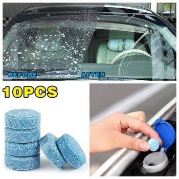 FREE SHIPPING 10PCS/Pack Car Solid Wiper Fine Seminoma Wiper Auto Window Cleaning Car Windshield Glass Cleaner Car Accessories Accessories
