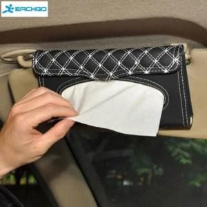 Accessories Car visor tissue box car accessories Clipboard tissue boxes Napkin Holder Auto Parts Accessories