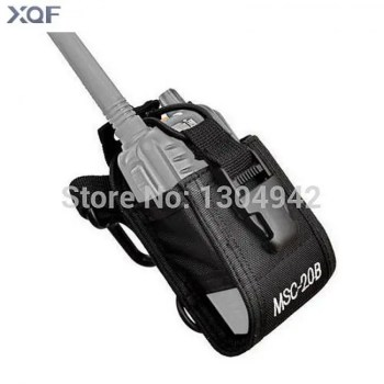 FREE SHIPPING Baofeng Radio Case Holder MSC-20B Portable Pouch For Baofeng UV-5R UV-82 Kenwood Yaesu ICOM TYT Walkie Talkie Accessories 2-Pin