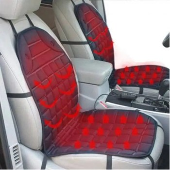 FREE SHIPPING 12V Heated Car Seat Cushion Cover Seat ,Heater Warmer , Winter Household Cushion car driver heated seat cushion Auto