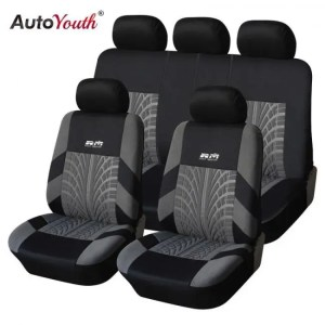 Covers AUTOYOUTH Hot Sale 9PCS and 4PCS Universal Car Seat Cover Fit Most Cars with Tire Track Detail Car Styling Car Seat Protector Auto