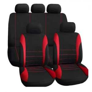 Covers Car Seat Covers Interior Accessories Airbag Compatible AUTOYOUTH Seat Cover For Lada Volkswagen Red Blue Gray Seat Protector Auto