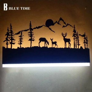 FREE SHIPPING Black Acrylic Creative Modern Led Wall Light For Living Room Beside Room Bedroom Lamps LED Sconce Bathroom Wall Lamp LED Lustres [tag]