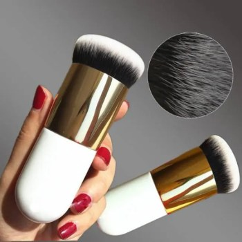 FREE SHIPPING 2018 New Chubby Pier Foundation Brush Flat Cream Makeup Brushes Professional Cosmetic Make-up Brush Dropshipping discount
