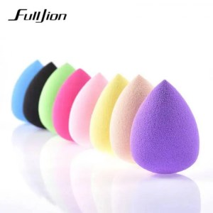FREE SHIPPING Fulljion 1Pc Soft Water Drop Shape Makeup Cosmetic Puff  Foundation Sponge Powder Smooth Beauty Face Clean Makeup Tool Accessory discount