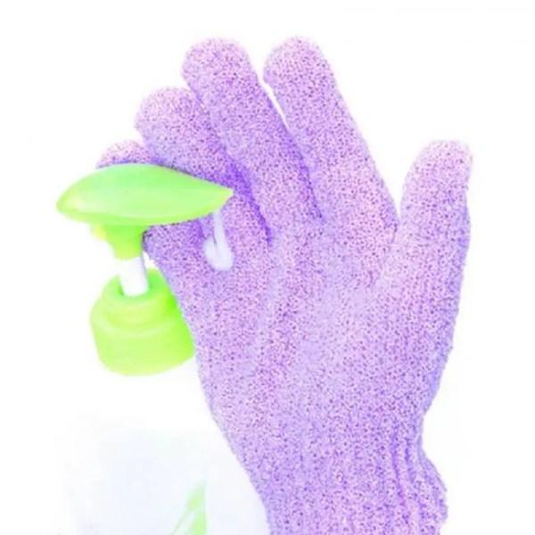 FREE SHIPPING 2pcs Shower Exfoliating Wash Skin Bath Gloves Foam Bath Skid Resistance Body Massage Cleaning Scrubber Shower Bath discount