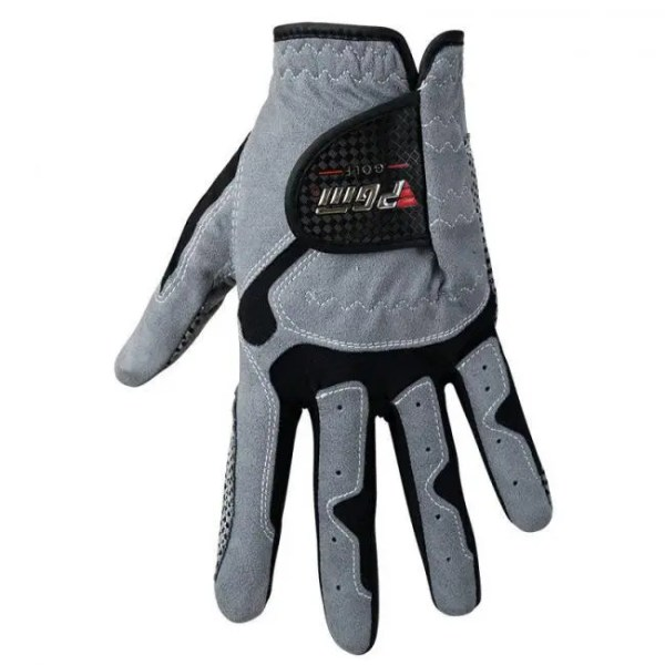 FREE SHIPPING Men's Golf Glove Micro Fiber Soft Left Hand Anti-skidding Non slip particles Breathable Golf Glove discount