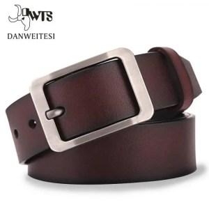 FREE SHIPPING DWTS Men's belt leather belt men male genuine leather strap luxury pin buckle casual men's belt Free shipping