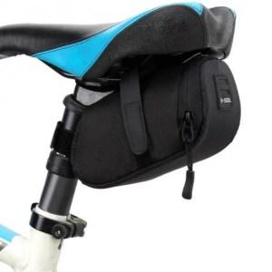 FREE SHIPPING 3 Color Nylon Bicycle Bag Bike Waterproof Storage Saddle Bag Seat Cycling Tail Rear Pouch Bag Saddle Bolsa Bicicleta accessories bag