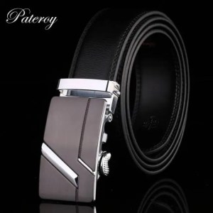 FREE SHIPPING PATEROY Men's Belt Male Waist Belts Genuine Leather Riem Cinturon Hombre Ceinture Homme Designer Cinto Masculino High Quality Belt