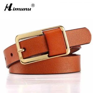 FREE SHIPPING Hot Sale Brand Luxury Pin buckle 100% cowhide Female Belt for Women Hip-Hop Genuine Leather Jeans Girdles Belts Candy 8 colors Belt
