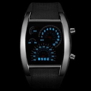 FREE SHIPPING Fashion Men's Watch Unique LED Digital Watch Men Wrist Watch Electronic Sport Watches Men Clock relogio masculino reloj hombre [tag]