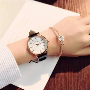 FREE SHIPPING Polygonal dial design women luxury fashion dress quartz watch ulzzang popular brand white ladies leather wristwatch brand