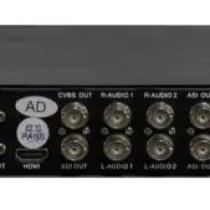 Receiver GEOSATpro DSR180QAM RACK MOUNT IRD WITH SDI, ASI, IP, QAM-B (64, 256) broadcast