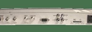 Receiver GEOSATpro DSR-R100 RACK MOUNT W/XLR AND BNC broadcast