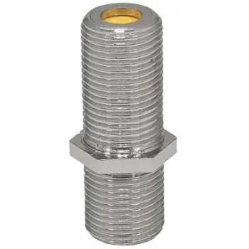 RG6 RG11 DTVF81I-05  Conn, Barrel Indoor, 50 pc bag 3GHZ-High Freq, Nut/Washer Compression