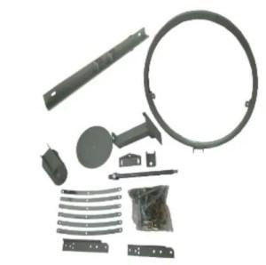 Prime C 240cm (8ft) C Ku Band Prime Focus Solid Satellite Dish CB240 actuator