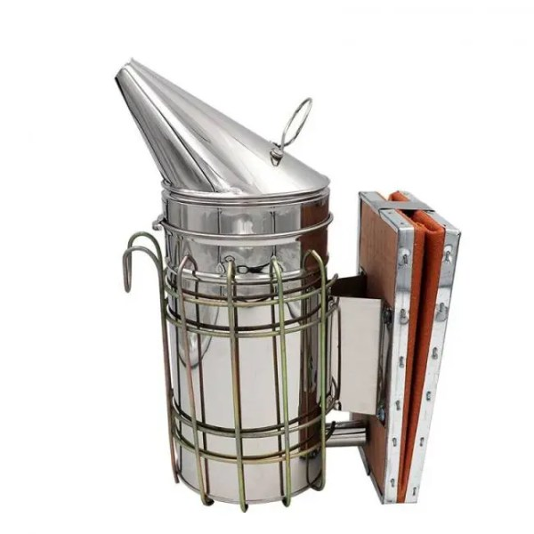 FREE SHIPPING Stainless Steel Bee Hive Smoker bee