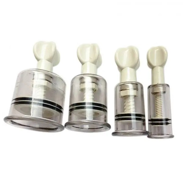 FREE SHIPPING Anti Cellulite Acupuncture Vacuum Cupping Cups Nipple Enlarger Acupuncture
