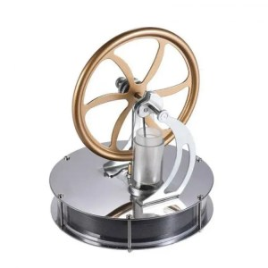 FREE SHIPPING Low Temperature Stirling Engine Motor Temperature Difference Cool Model Educational Toy free