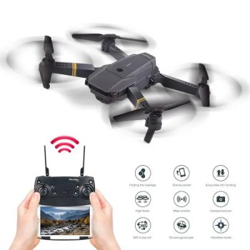 FREE SHIPPING Foldable Mini Altitude Hold High Selfie Drone WIFI FPV HD Camera Wide Angle Folding RC Quadcopter Headless Helicopter VS E58 H47 free