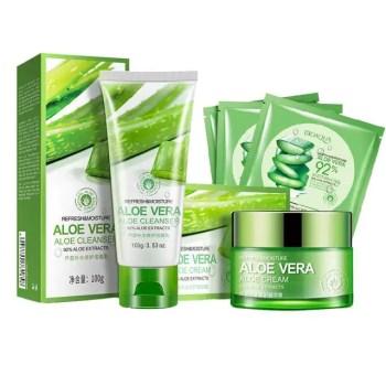 FREE SHIPPING Aloe Vera Hydrating Facial Gel 5 pcs Set [tag]