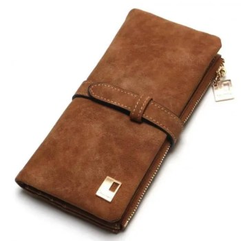 FREE SHIPPING Women's Nubuck Leather Wallet [tag]
