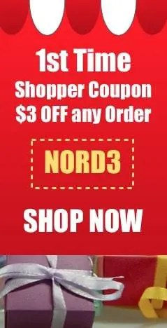 Save $3 on your first order