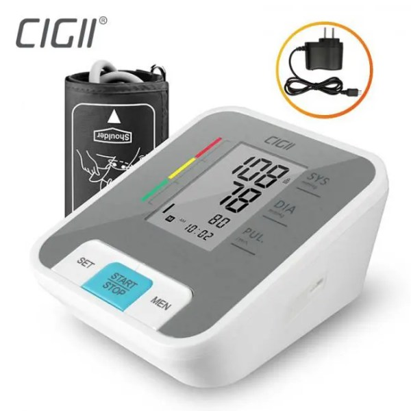 FREE SHIPPING B56 Portable LCD digital Upper Arm Blood Pressure Monitor Arm