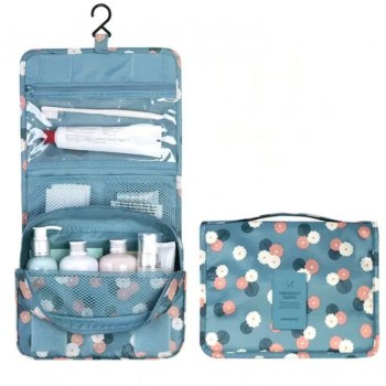 FREE SHIPPING MTB-2 High quality waterproof portable toiletry cosmetics makeup hanging travel bag for women bag
