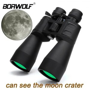 Telescope High Magnification Long Range Zoom 10-60 Times Hunting Telescope Binoculars HD Professional Zoom 10380X100